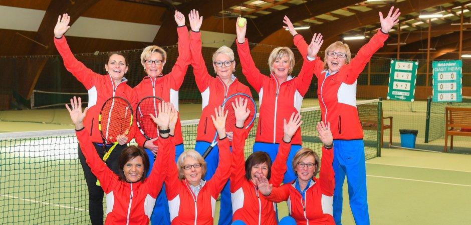 Damen 50 des VfL sind Nummer eins in Westfalen